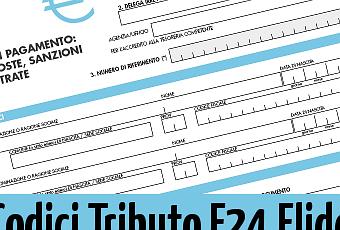 Codici tributo f24 elide paperblog for F24 elide prima registrazione