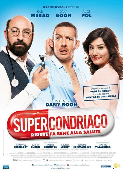 Locandina italiana Supercondriaco - Ridere fa bene alla salute