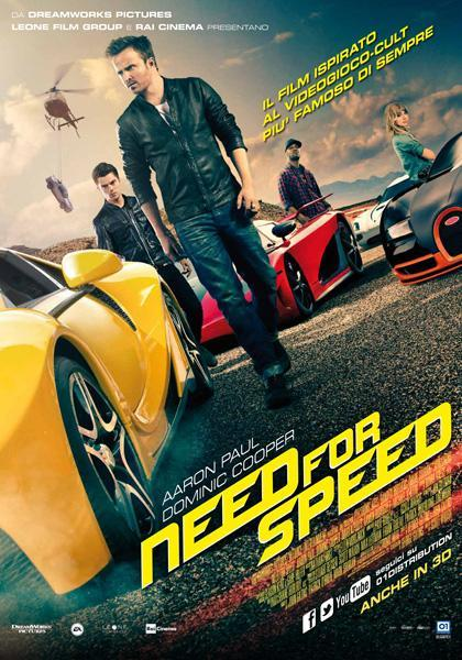 Locandina Need for Speed