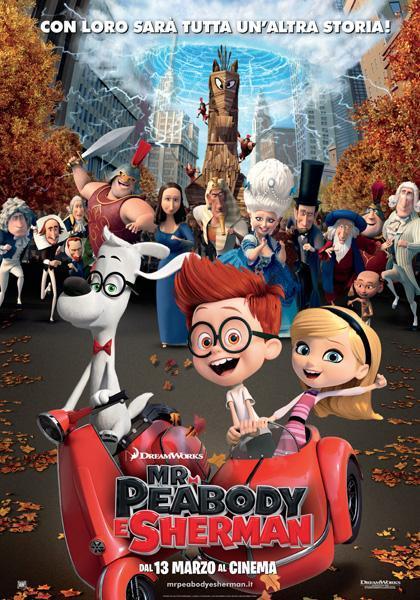 Locandina italiana Mr. Peabody e Sherman