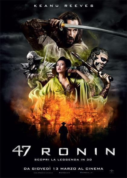 Locandina italiana 47 Ronin
