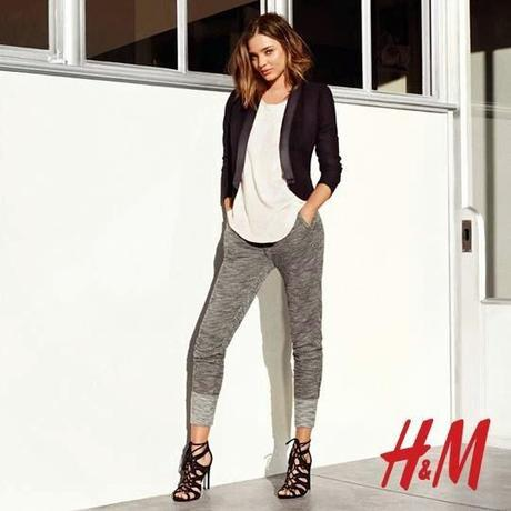 H&M Spring Lookbook feat Miranda Kerr