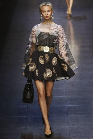Dolce   Gabbana spring  summer 2014 - Paperblog f323a6cd7cc