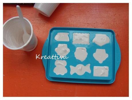 Stampi per colata e stampi push - Polvere di ceramica e Stampi - Hobby