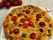Torta salata microonde Crisp tonno, olive pomodorini