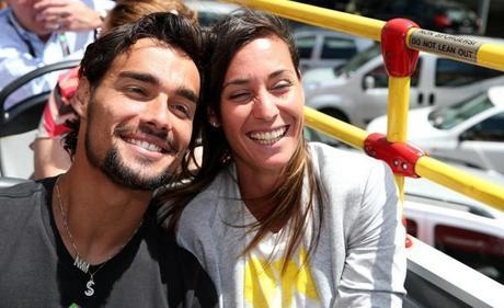 Flavia Pennetta e Fabio Fognini: personaggi dell'Italtennis di oggi