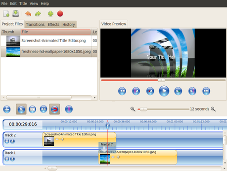 video editing linux