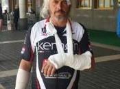 Siracusa: brutta caduta Croazia costringe Matteo Blundo rientrare Priolo