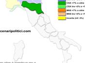 Sondaggio EMILIA ROMAGNA (SCENARIPOLITICI marzo 2014): 44,4% (+17,2%), 27,2%, 24,2% stabile vicino 40%, Forza Italia