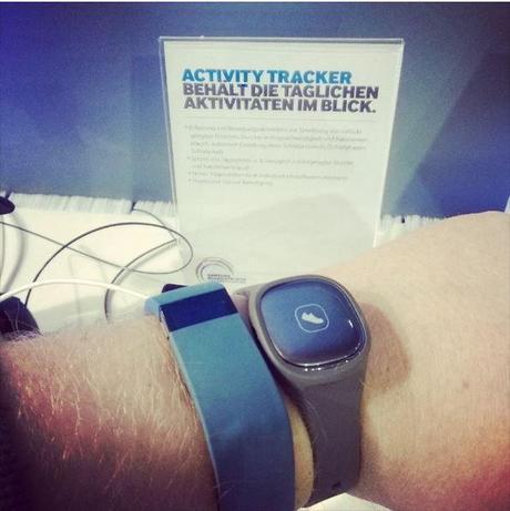 samsung activity tracker 1 Samsung Activity Tracker presentato in Germania accessori  Samsung Activity Tracker S Band. Activity Tracker accessori samsung