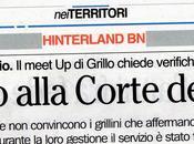 MeetUp Amici Beppe Grillo Giorgio Sannio denuncia Comune alla Procura della Corte Conti danno erariale causato mancato raggiungimento delle percentuali raccolta differenziata