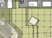 Ristrutturare bagno: inserire pedana spostare scarichi.