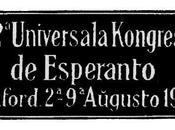 valore educativo dell'Esperanto, parola Tolkien British Esperantist 1933 solo...