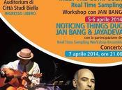Workshop musicista compositore Bang, aprile 2014 Citta' Studi Biella.