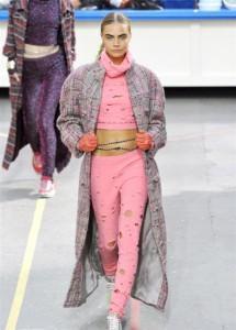 Chanel sfilate AI 2014 mamme a spillo