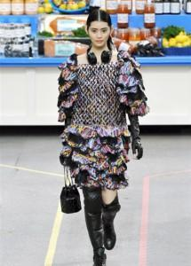 Chanel sfilate AI 2014 2015 mamme a spillo