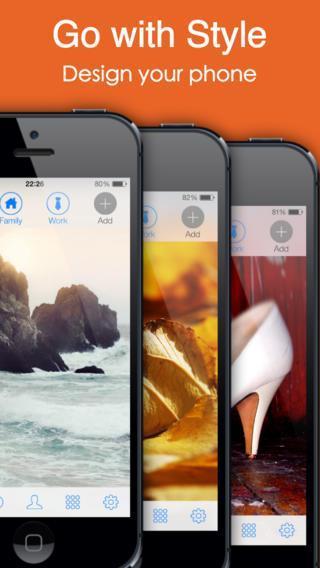 GoDial - Speed Dial, Groups & Facebook Photos