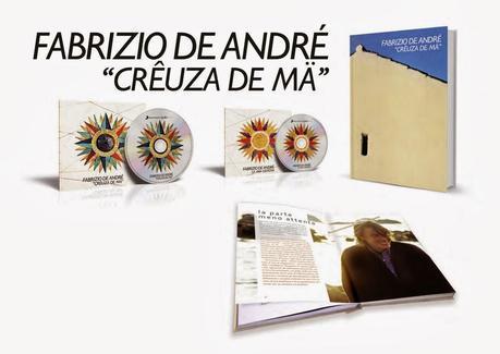 FABRIZIO DE ANDRE' - Creuza de ma - 30th Anniversario - SONY MUSIC 2014