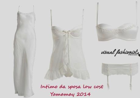 Intimo sposa economico: Yamamay e Intimissimi wedding ...