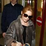 Kylie Minogue firma autografi ai fan a Berlino06