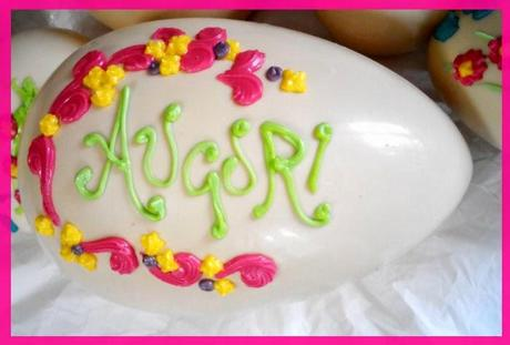 Pasqua torte biscotti cupcakes uova - Uova di pasqua decorati a mano ...