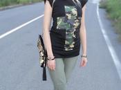 Tendenze Moda Camouflage Praio Loose Pants