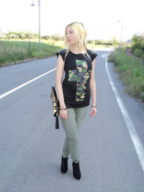 Tendenze Moda Camouflage – Praio Loose Pants
