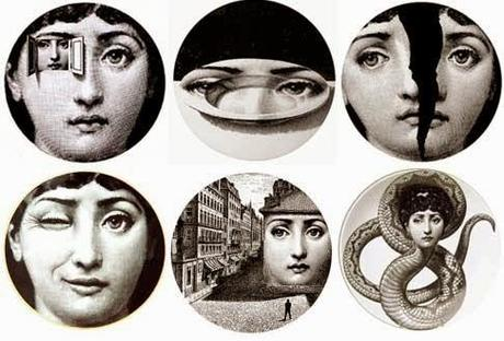 piero fornasetti e l 39 arte di decorare paperblog. Black Bedroom Furniture Sets. Home Design Ideas