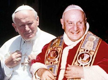 Canonizzazione Papa Giovanni XXIII e Giovanni Paolo II in diretta 3D su Sky