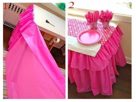 ... il tulle che richiama i vestitini da principessa o da ballerina