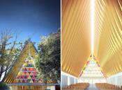 Tensostrutture, progetti temporanei, materiali locali. Pritzker Shigeru