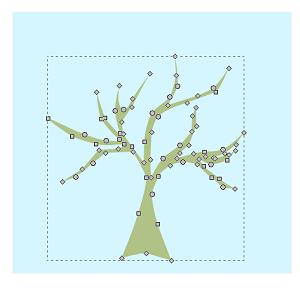 La sagoma dell'albero
