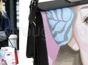 Dakota Fanning borsa Prada 2014