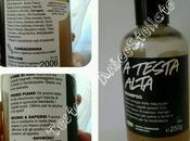Recensione testa alta LUSH, shampo capelli grassi