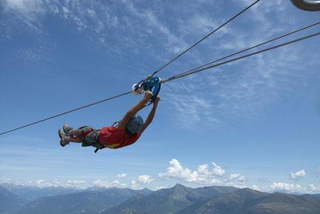 Riapre tamaro park facciamo un salto di 15 metri for 110 piedi in metri
