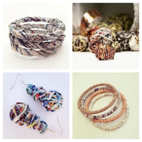 Cartalana - gioielli carta riciclata