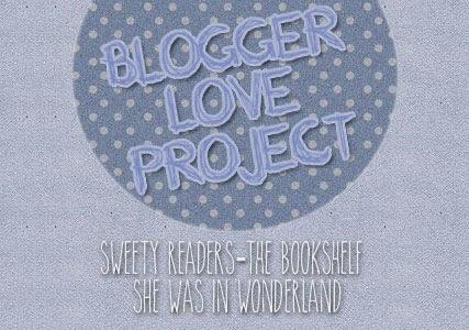 Blogger Love Project! Mini challenge #1 Book Spine Poetry