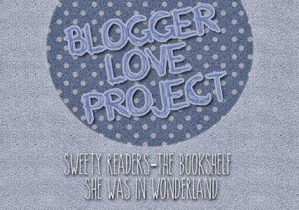 Blogger Love Project - Mini challenge #1 - Book Spine Poetry