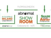 SHARE YOUR ABITAT#DISEGNA SOCIALE! Salone Mobile sbarca Abnormal