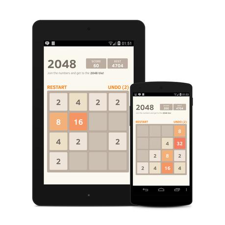 2048: Ecco il gioco che sta spopolando sugli smartphone Android ed iOS [Migliori Giochi Telefoni]