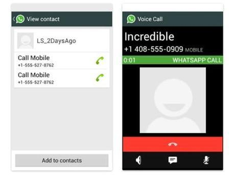 WhatsApp voice Android