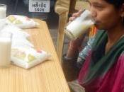 Manju ciba solo acqua, latte senza consumare alimenti solidi