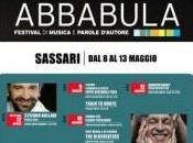 aprile, Stefano Bollani, prende edizione FESTIVAL ABBABULA, l'unico festival della Sardegna dedicato alla musica alle parole d'autore