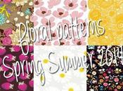 Floral print moodboard
