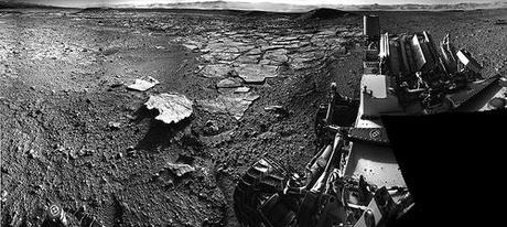 Curiosity NavCam right sol 593 - Kimberley