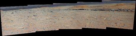 Curiosity sol 572 MarsCam right panorama