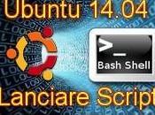 Ubuntu 14.04 Come lanciare Script