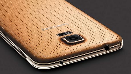 cg Samsung Galaxy S5 GOLD sarà unesclusiva Vodafone smartphone  vodafone samsung galaxy s5 samsung