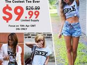 """""""Greek"""" Print Grey T-shirt have never seen before!"""