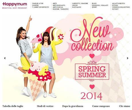 74c6c14cfdbc Happy Mum  abbigliamento premaman alla moda - Paperblog